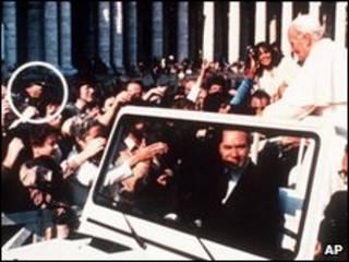 سوء قصد به پاپ