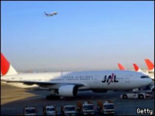 самолет японской авиакомпании