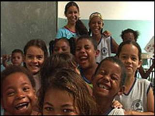 Classe da aula no Brasil