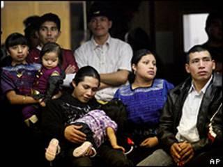 Familia de origen indígena