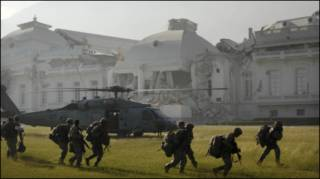 Lính Mỹ được điều tới dinh Tổng thống tại Haiti