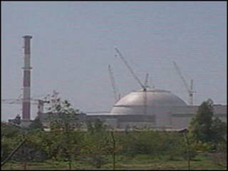 ईरान का एक परमाणु संयंत्र