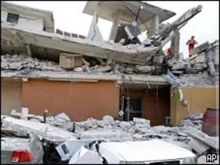 Escombros en Puerto Príncipe