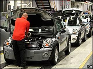 مصنع سيارات في بريطانيا