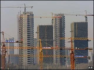 Construcción de edificios en China