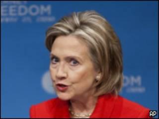 Bà Hillary Clinton hôm 21/1