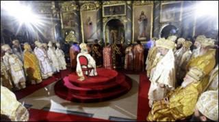 Інтронізація Патріарха Іринея