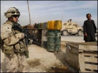 سرباز خارجی در قندهار