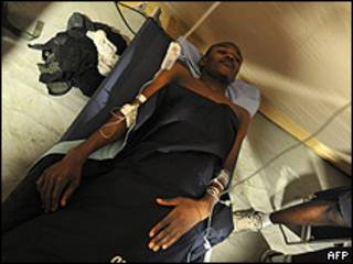 Wismond Exantus, joven haitiano rescatado el sábado con vida