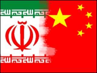 پرچم های چین و ایران