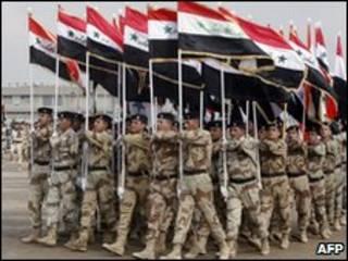 Fuerzas de seguridad en Irak