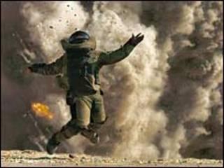 يروي الفيلم قصة فريق خاص بالمتفجرات في القوات الامريكية في العراق