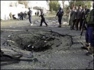 انفجار در نزدیکی شراتون