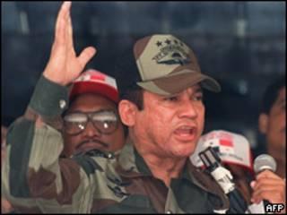 Manuel Noriega en 1988