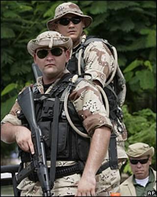 Soldados del ejército de Paraguay. Archivo