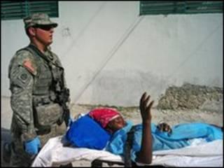 हैती में घायल