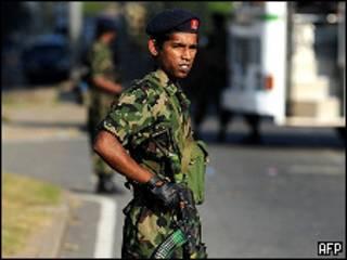 श्रीलंकाई सैनिक