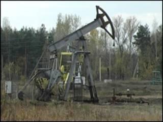 Видобуток газу й нафти у Полтаві