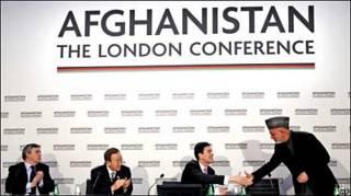 Открытие лондонской конференции по Афганистану