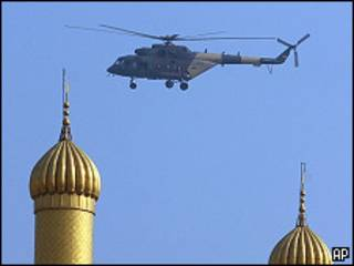 Вертолет в Ираке