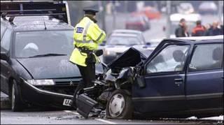 Дорожный инцидент