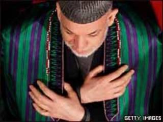 Presidente afgano, Hamid Karzai