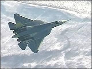 Истребитель пятого поколения ПАК ФА. Фото Вести.ру