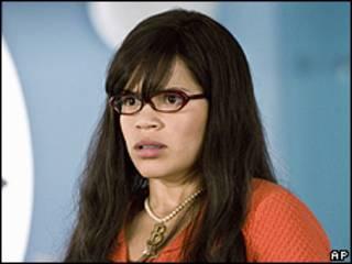 "América Ferrera, protagonista de ""Ugly Betty"" (""Betty la Fea"")"