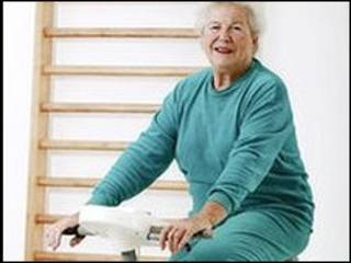 امرأة مسنة