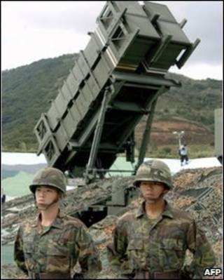 Peluncur rudal Patiot milik Taiwan