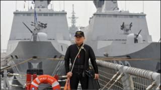 Американские корабли в Тайване