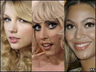 Taylor Swift, Lady Gaga y Beyoncé, nominadas a los Grammys