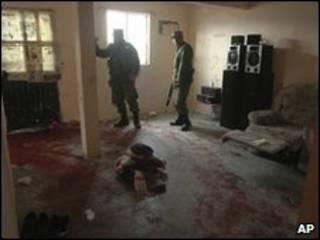 La casa donde se registró el incidente