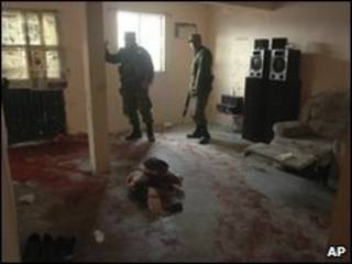 محل حادثه در شهر سیودد حوارز