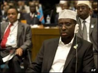 شیخ شریف شیخ احمد در گردهمایی اتحادیه آفریقا