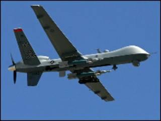 अमरीका का चालक रहित विमान - ड्रोन