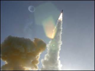 آزمایش موشکی آمریکا مورخ 31 ژانویه