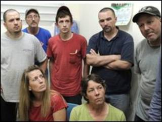 Американские миссионеры, пытавшиеся вывезти детей