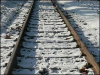 रेलवे लाइन