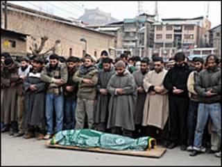 शोक और विरोध प्रदर्शन