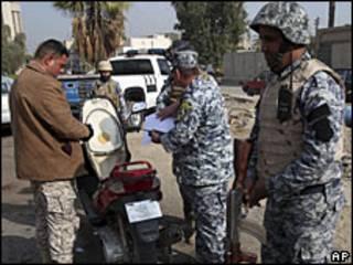 Control en Irak