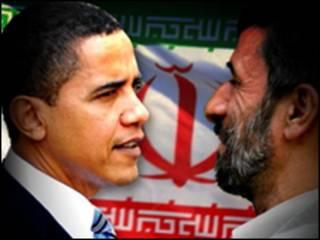 محمود احمدي نجاد واوباما