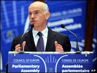 Primer ministro griego, George Papandreou