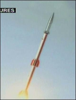 تصویر پرس تی وی از پرتاب کاوشگر 3