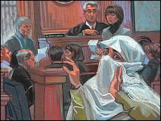عدالت کا منظر