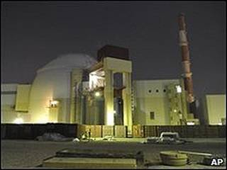A usina iraniana de Bushehr (arquivo)