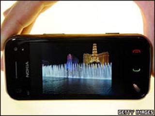 Nokia N97 Mini, con sistema operativo Symbian