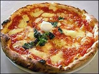 Pizza margherita napolitana. Cortesía: Associazione Pizzaiuoli Napoletani