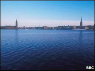 Стокгольм (вид с моря)