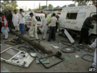 Взрыв в Карачи